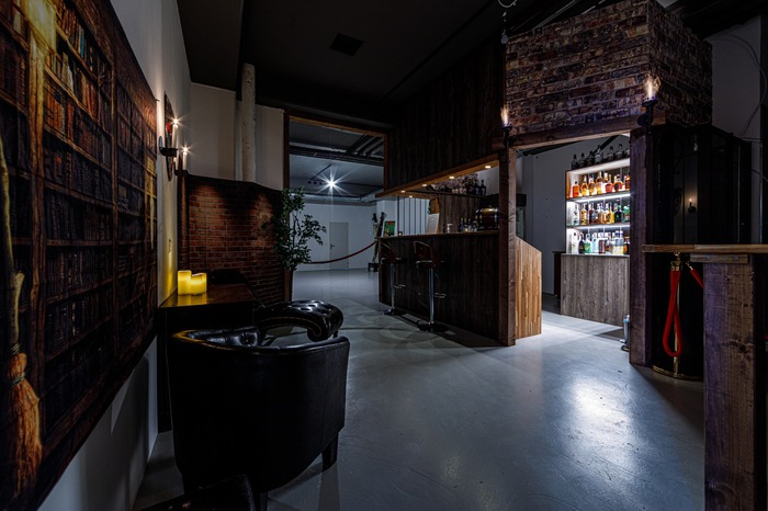 Rope Jam in der Alpha Lounge